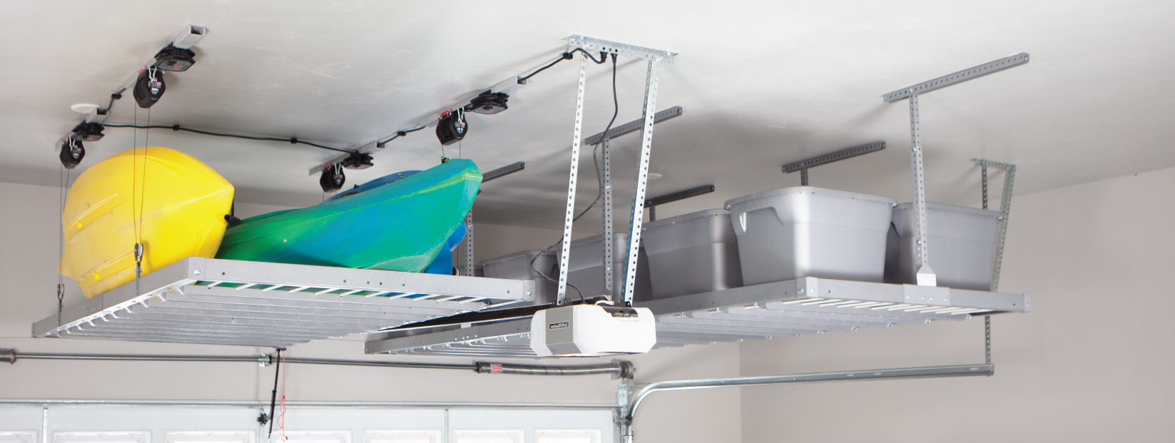 Motorized Overhead Storage Orange County